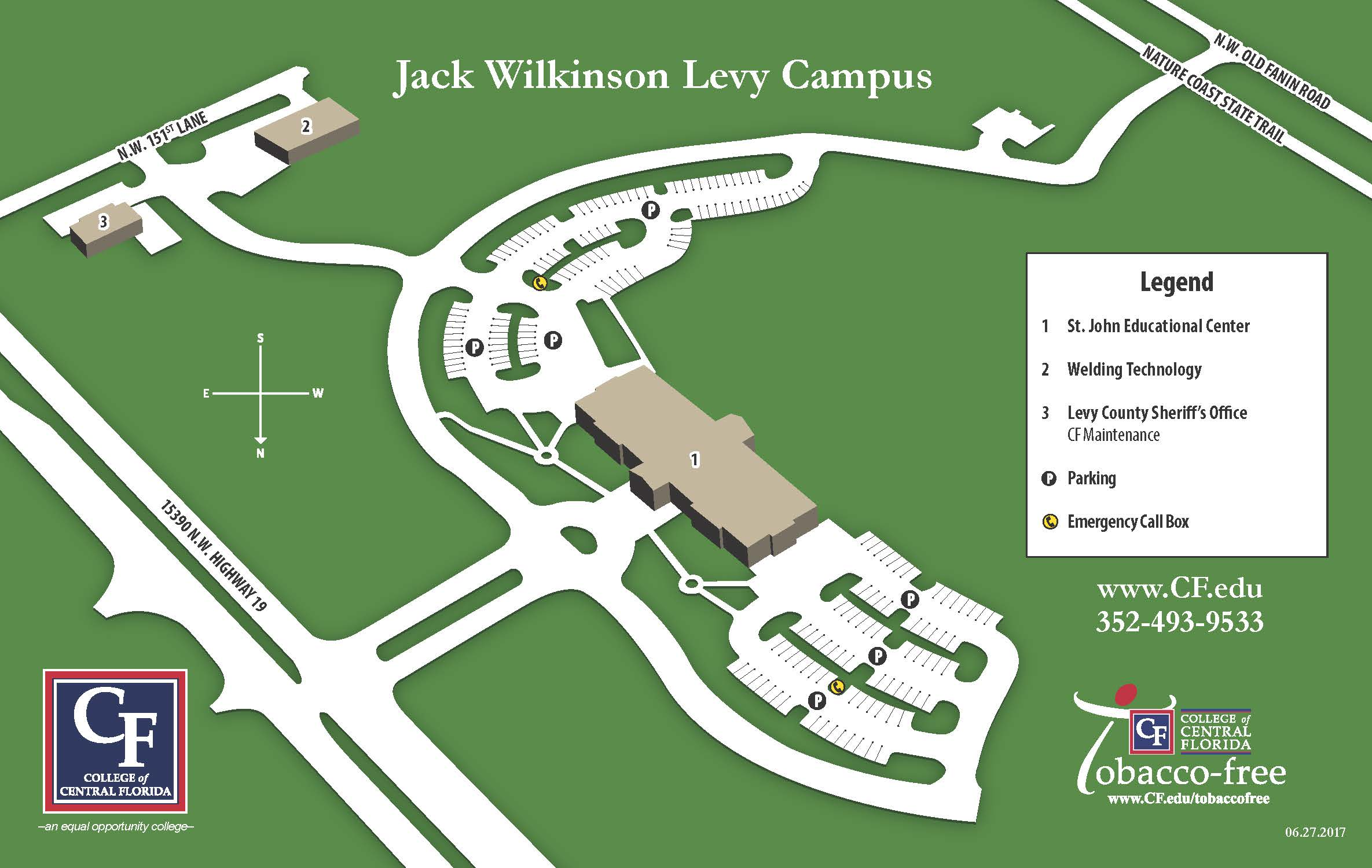 Levy Campus Map